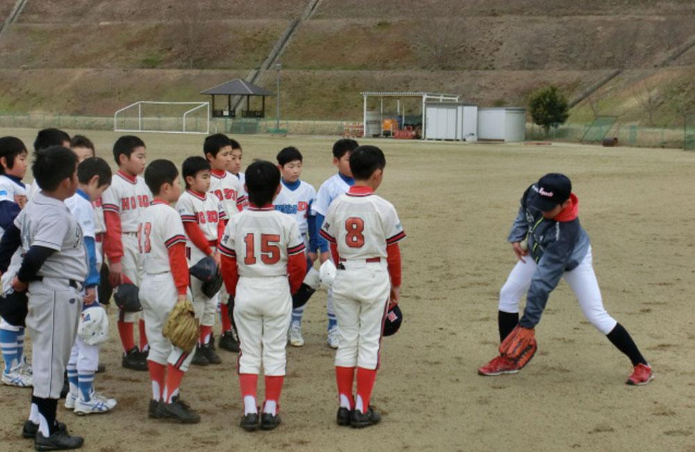 引佐町野球教室