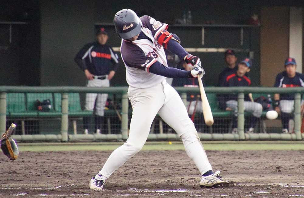 チーム最年長ベテラン江川外野手