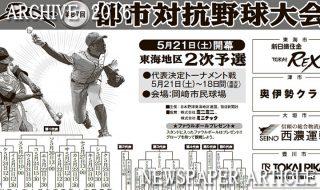 第87回都市対抗野球大会東海地区2次予選